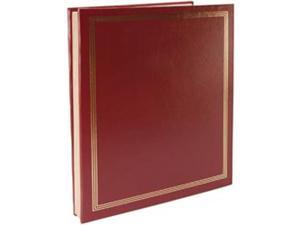 "Postbound Jumbo Album 11""X14""-Burgundy"