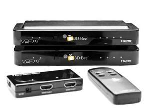 3D-Bee 2D to 3D real-time video converter for two 2D projectors and large-scale bright projections.