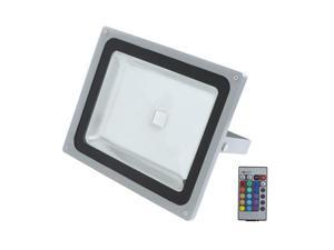 TOMTOP 50W LED RGB 16 Colors Change Flood Outdoor Light Lamp Remote Control
