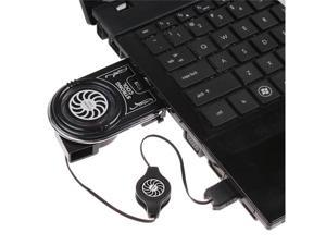 Mini Vacuum USB Air Extracting Cooling Fan Cooler for Notebook Laptop PC Computer