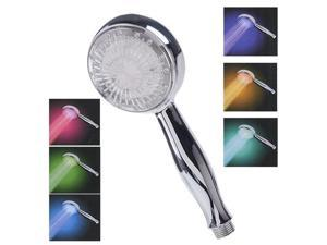 LED Shower Head Automatic Control Sprinkler 7 Color Changing