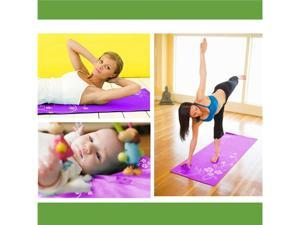 Hatha Yoga Mat Pad Set Kit - Yoga Mat, Mat Bag, Strap, Mat Bundle, Socks 6 pcs set