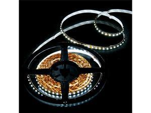 5M SMD 3528 600 LED Strip Light White Non-Waterproof for Decoration of Home Car Store Stage Bar KTV Hotel Bridge