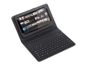 "Wireless Bluetooth Keyboard + Leather Case Stand for Samsung Galaxy Tab 7"" GT-P6210"