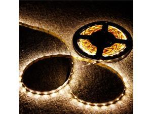 5M SMD 3528 300 LED Strip Light Warm White Non-Waterproof for Decoration of Home, Car, Store, Stage, Bar, KTV, Hotel, Bridge