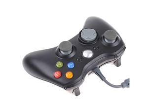 USB Wired Controller for Microsoft Xbox 360 XBOX360 Black