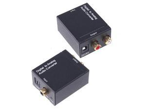 Digital (Toslink + Coaxial) to Analog Audio Converter