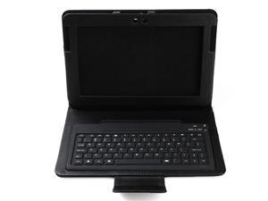 """2in1 Wireless Bluetooth Keyboard & Leather Case Stand for Samsung Galaxy 10.1"""" GT-N8000"""