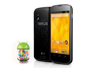 "Unlocked 8GB Google LG Nexus 4 E960 Smartphone - Black 3G Quad-Core 1.5GHz 2GB RAM  4.7"" Android 4.2.2 Cell Phone"