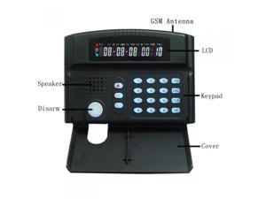 Wireless GSM Home Intelligent Alarm System LCD Display+Keypad with Tamper Switch