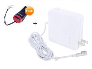"""85W Replacement Magsafe AC Power Adapter Charger for Apple 15"""" 17-inch MacBook Pro US Plug 18.5V 4.6A + (Gift) 2-in-1 USB ..."""