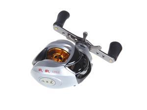 10BB 6.3:1 Left Hand Bait Casting Fishing Reel 9Ball Bearings + One-way Clutch High Speed