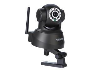 All-in-one 10 IR LED WPA Wireless Internet PT Dual Audio IP Camera