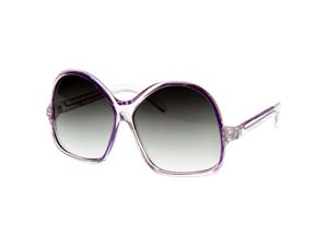 Womens Oversized Large Fashion Translucent Color Sunglasses