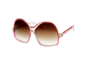 Womens Oversized Large Fashion Translucent Color Sunglasses