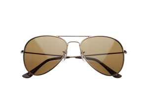 Polarized Classic Metal Aviator Sunglasses