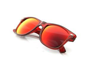 Classic Retro Fashion Translucent See-Through Colorful Wayfer Sunglasses