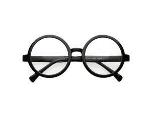 Vintage Inspired Eyewear Round Circle Clear Lens Glasses Eyeglasses