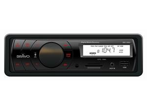 Bravo View IND-100U – In-Dash Digital Media Receiver with AM/FM Tuner and USB/SD/AUX-IN