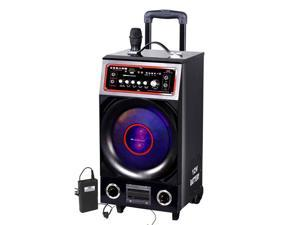 Martin Ranger KA-PA08 – 280-Watt Portable Wireless PA System with Built-In USB/SD Card Reader