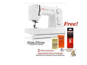 Janome HD1000 Heavy Duty Sewing Machine w/FREE 4-Piece Customer Appreciation Bonus Package and FREE Ground Shipping