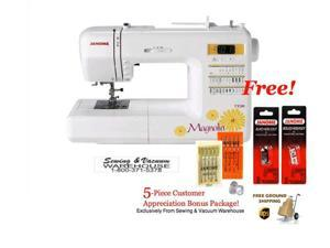 Janome Magnolia 7330 Computerized Sewing Machine w/FREE 5-Piece Customer Appreciation Bonus Package and FREE Ground Shipping