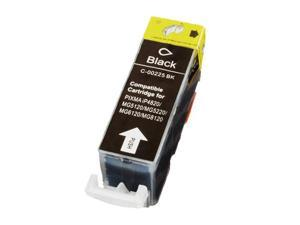 Canon PGI-225 Pigment Black Compatible Inkjet Cartridge W/ Chip