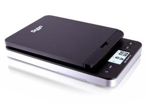 SAGA 86 LB BLACK DIGITAL POSTAL SHIPPING SCALE by SAGA X 0.1 OZ WEIGHT POSTAGE W/AC USB M S Pro Model