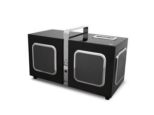 Add-On Milo Cube 6.1 Channel 3D Speaker System Supports iPod iPhone 30-pin Dock and iPad USB Port - Black
