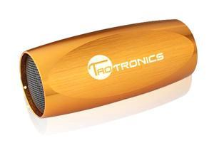 TaoTronics KEYSTONE Gold Aluminum Alloy Portable Sports Speaker / MP3 Player with FM Radio