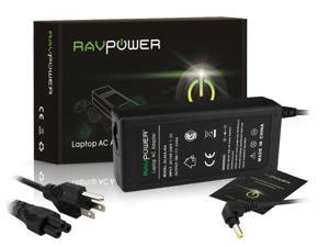 RAVPower® Laptop Notebook AC Adapter (60W 19V 3.16A /5.5*2.5 central pin) For Dell Inspiron Series: 1000,1200,1300,2000, ...