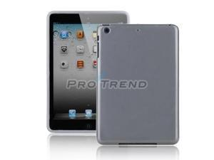 TPU Soft Case Protective Cover Skin Shell for Apple iPad Mini  gray