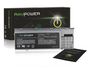 RAVPower® Laptop Notebook Replacement Li-ion Battery (6-Cell / 4400mAh), for Dell Latitude D620 D630 D631 D640 D630C D630N&#59; ...