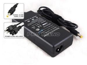 Replacement AC Adapter + Power Supply Cord (90W / 19V / 4.74A/ 5.5*1.5mm) for Toshiba Satellite A100 A105 A110 A135 A200 ...