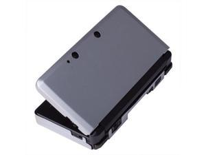 Silver Aluminium Hard Shell Case Skin Cover For Nintendo 3DS XL LL