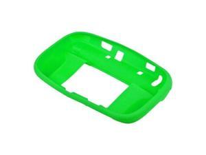 Green Soft Silicone Skin Case For Nintendo Wii U Gamepad Remote Controller