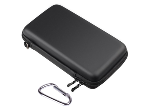 Black EVA Pouch Case Cover Bag Sleeve For Nintendo 3DS XL LL