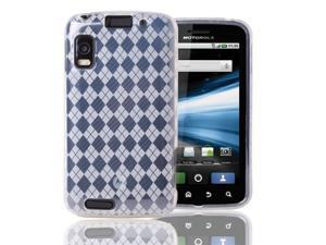 Clear TPU Gel Skin Case Cover For Motorola Atrix 4G MB860