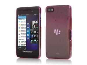 3D Rain Drop Gradient Design Snap On Case Cover Skin For BlackBerry Z10 Purple