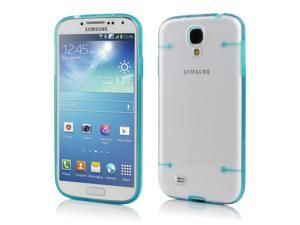 Hard PC Cover Ultra-thin Case Glow in Dark for Samsung Galaxy S4 SIV i9500 Blue