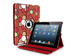 Apple iPad Mini Case - 360 Degree Rotating Stand Smart Cover PU Leather Case For iPad Mini 1st Gen with Built-in Magnet for ...