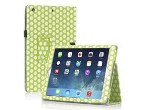 Apple iPad Mini Case - Slim Fit Leather Folio Smart Cover Stand For iPad Mini 3 / iPad Mini 2 with Automatic Sleep & Wake ...