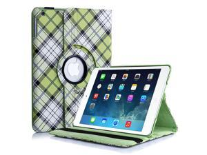 Apple iPad 4/3/2 Case - 360 Degree Rotating Stand Folio PU Leather Smart Case Cover with Automatic Wake & Sleep Feature and ...