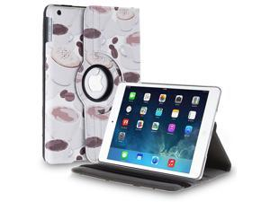 iPad Air Case - 360 Degree Rotating Stand Folio PU Leather Smart Cover Case For Apple iPad Air iPad 5th Gen 2013 Model with ...
