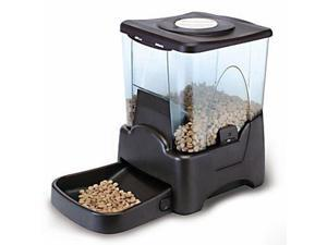 Large Automatic Dog Cat Pet Feeder Electronic Animal Feed Station with Programmable Timer & Meal Portion Control LCD Display