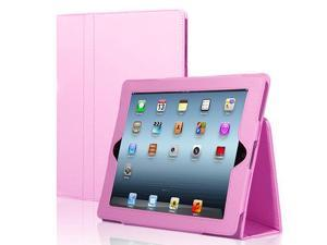 Apple iPad 4/3/2 Case - Slim Fit Leather Folio Cover Stand For iPad 4th Generation With Retina Display, the New iPad 3 & ...