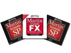 Martin MSP4100 Acoustic Guitar Strings W/ Free MFX740
