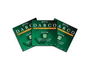 Darco Acoustic Guitar Strings D5000 Xl Bronze 3 Packs