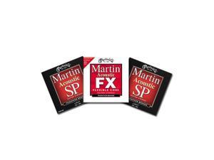 Martin MSP4100 Acoustic Guitar Strings W/ Free MFX740