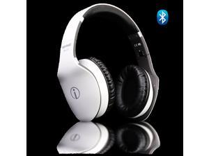 Rhythmz Audio Wireless Fashion Hi-Fi Bluetooth Headphone w/ Touch Gesture Controls (White)